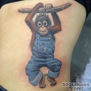 12 Best Monkey Tattoo Images And Designs_2