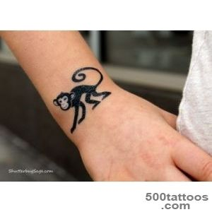 Chinese New Year Year of the Monkey Tattoo (One Thing, Three Ways _48