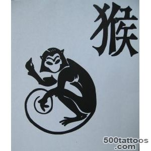 Chinese Zodiac Monkey Tattoo Designs  Tattoobitecom_15