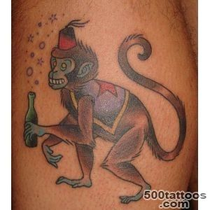 MONKEY TATTOOS   Tattoes Idea 2015  2016_17