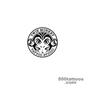 Twin Monkey Tattoo_11