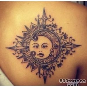 50 Examples of Moon Tattoos  Art and Design_23