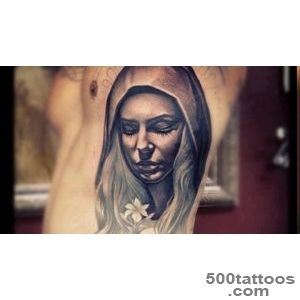 23+ Saint Mary Mother Of God Tattoos_21