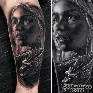Inkerrs Mother of dragons #tattd #tattoo #tattoos #inked_6
