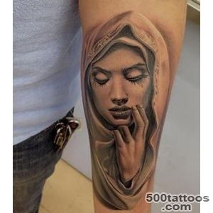 Pin 19 Saint Mary Mother Of God Tattoos Designs on Pinterest_3