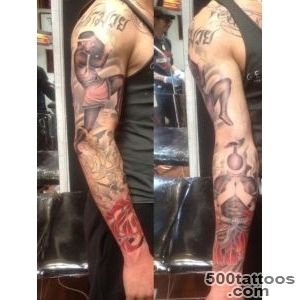 muay thai tattoo sleeve  Tattoo board  Pinterest  Thai Tattoo _31