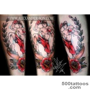 Muay Thai Tattoos   TattooMagz   Handpicked World#39s Greatest _39