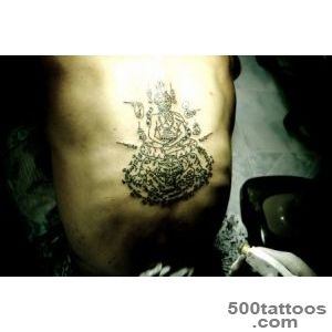 My Muay Thai Sak Yant   Traditional Thai Tattoo_49