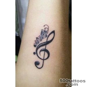 30 Music Tattoo Ideas For Girls and Boys_1