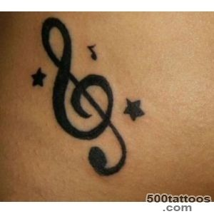 30 Music Tattoo Ideas For Girls and Boys_5