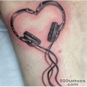 50 Cool Music Tattoo Designs and Ideas  Tattoos Me_3