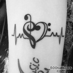100 Music Tattoo Designs For Music Lovers_46