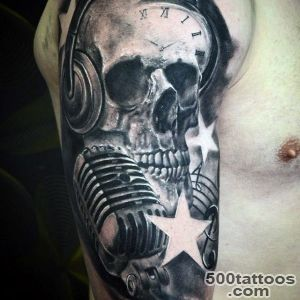 100 Music Tattoos For Men   Manly Designs With Harmony_25