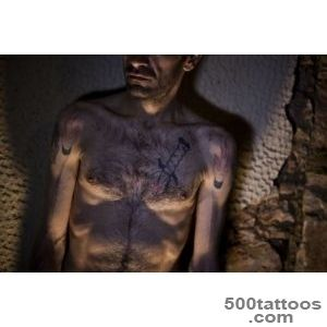 Greece#39s Muslim Immigrants Are Ashamed of Their Prison Tattoos _12