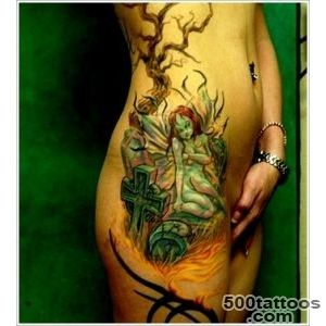 40+ Hot and Sexy Fairy Tattoo Designs for Women and Men_43