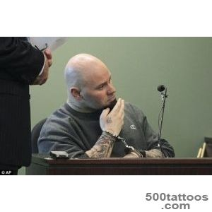 Jared Remy displayed #39neo Nazi tattoo#39 during court appearance _26