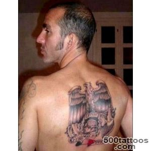 Paolo Di Canio tattoo Just days after renouncing fascism _27