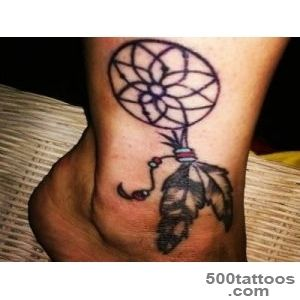 10 Neat Native American Ankle Tattoos_21
