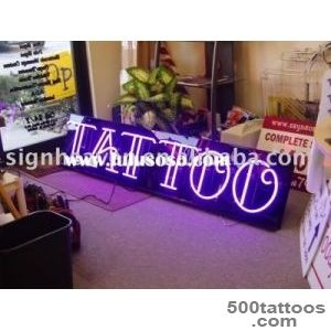neon tattoo sign, neon tattoo sign Manufacturers in LuLuSoSocom _48