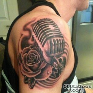 TOWIE#39s Kirk Norcross gets huge new tattoo of a microphone on his _46