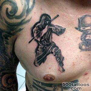30 Ninja Tattoos For Men   Ancient Japanese Warrior Design Ideas_2