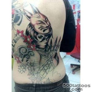 Anime Ninja Geisha Tattoo  Tattoos  Pinterest  Geisha Tattoos _26