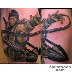 Scorpions   Mortal Kombat  Martial arts Tattoos  Pinterest _35