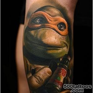 Teenage Mutant Ninja Turtle Tattoos  Inked Magazine_29