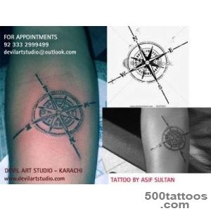 North Compass Tattoo Designs  Tattoo Studio In Karachi Pakistan_14