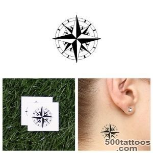 North Star Temporary Tattoo Set of 2 by Tattify on Etsy_31