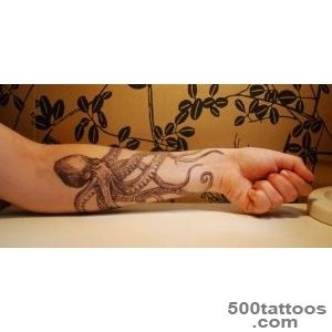 55 Awesome Octopus Tattoo Designs  Art and Design_5