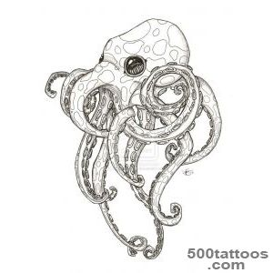 1000+ ideas about Octopus Thigh Tattoos on Pinterest  Octopus _29