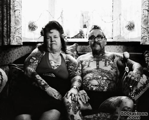 Old Tattooed Couple Tumblr Tattoos Pinterest