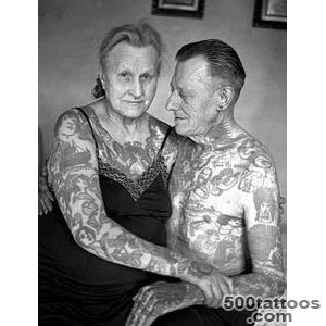 Old People with Different Tattoos (with Pictures)  New Health Advisor_1