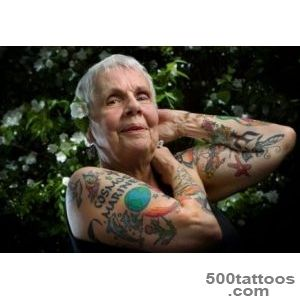 Old People with Different Tattoos (with Pictures)  New Health Advisor_8