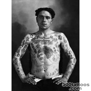 Really Old School Tattoos  Ironchef#39s World   Cool Stuff _39