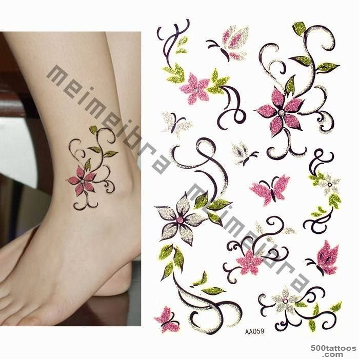 Butterfly And Orchid Tattoos Photo   Tattoes Idea 2015  2016_39