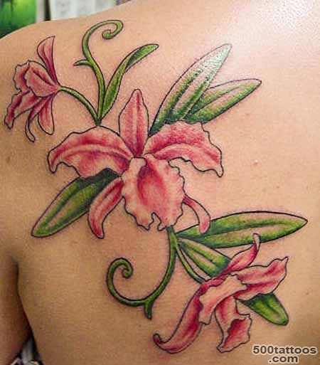 Orchid Tattoos Designs_31