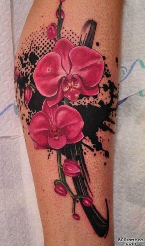 Top 10 Orchid Tattoo Designs  Orchids, Orchid Tattoo and Tattoos ..._7