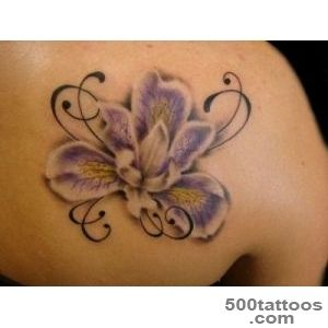 50+ Beautiful Orchid Tattoos_2