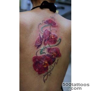 Orchid Tattoo  The Best Flower Tattoos_48