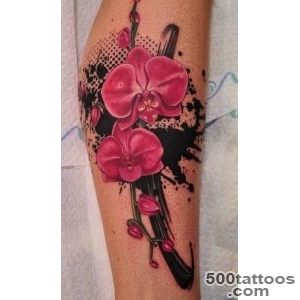 Top 10 Orchid Tattoo Designs  Orchids, Orchid Tattoo and Tattoos _7