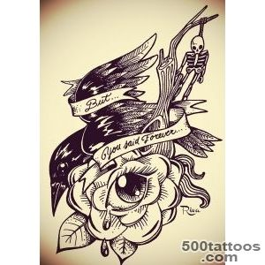 Original Tattoo Drawings on Behance_16