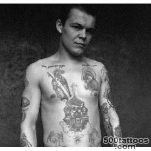 Russian Criminals Tattoo   Beauty will save_9
