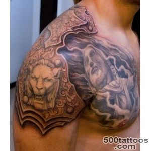 Tattoos By Scott Trerrotola Armour Tattoo_3