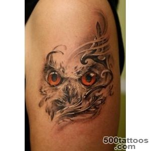 55 Awesome Owl Tattoos  Art and Design_4