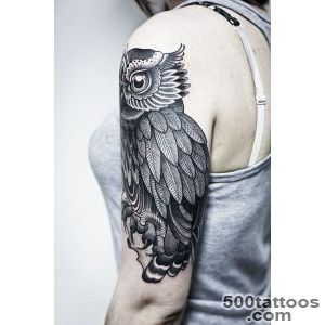 55 Awesome Owl Tattoos  Art and Design_40