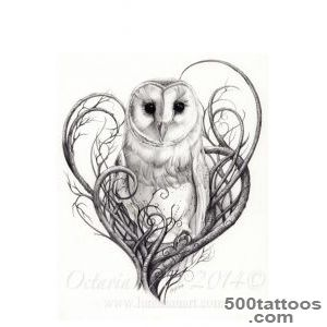 1000+ ideas about Owl Tattoos on Pinterest  Tattoos and body art _39