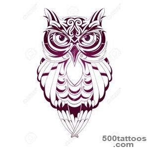Owl Tattoo Stock Photos, Pictures, Royalty Free Owl Tattoo Images _14