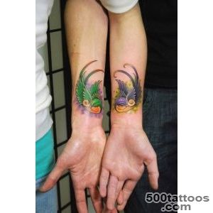 20 Wonderful Love Tattoos for Couples  CreativeFan_41